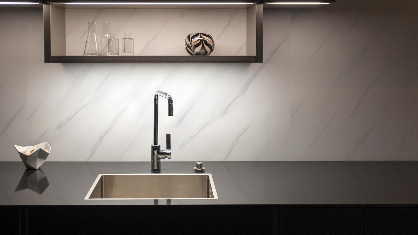 PVC kitchen splash back