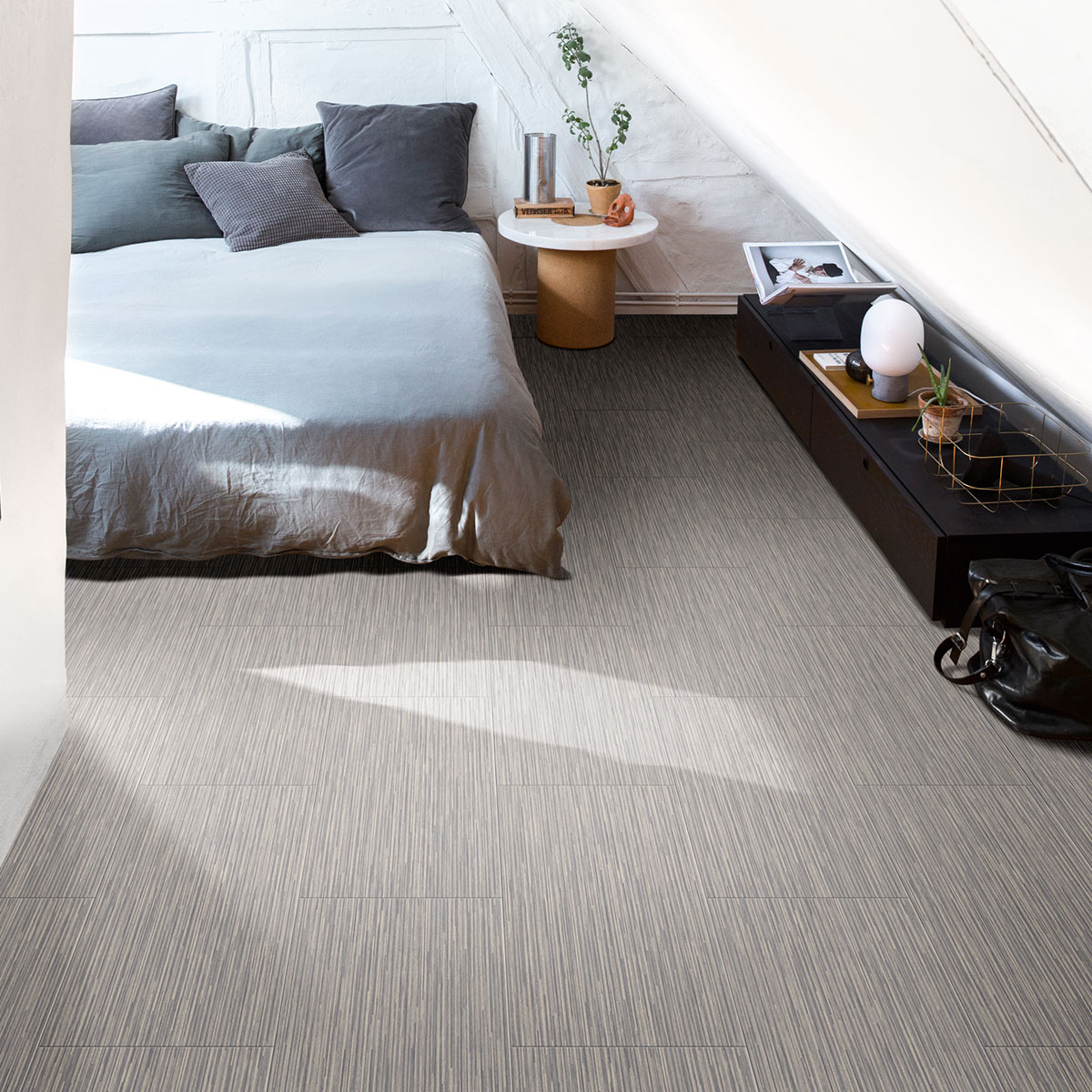 Luxury Vinyl Flooring can be easily laid over an existing floor