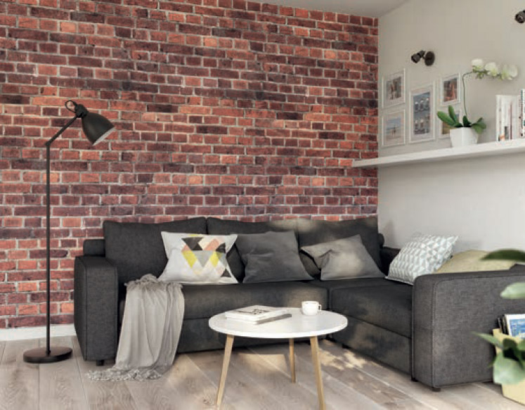 Brick Effect PVC wall panels