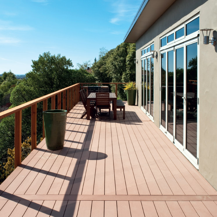 composite decking balcony