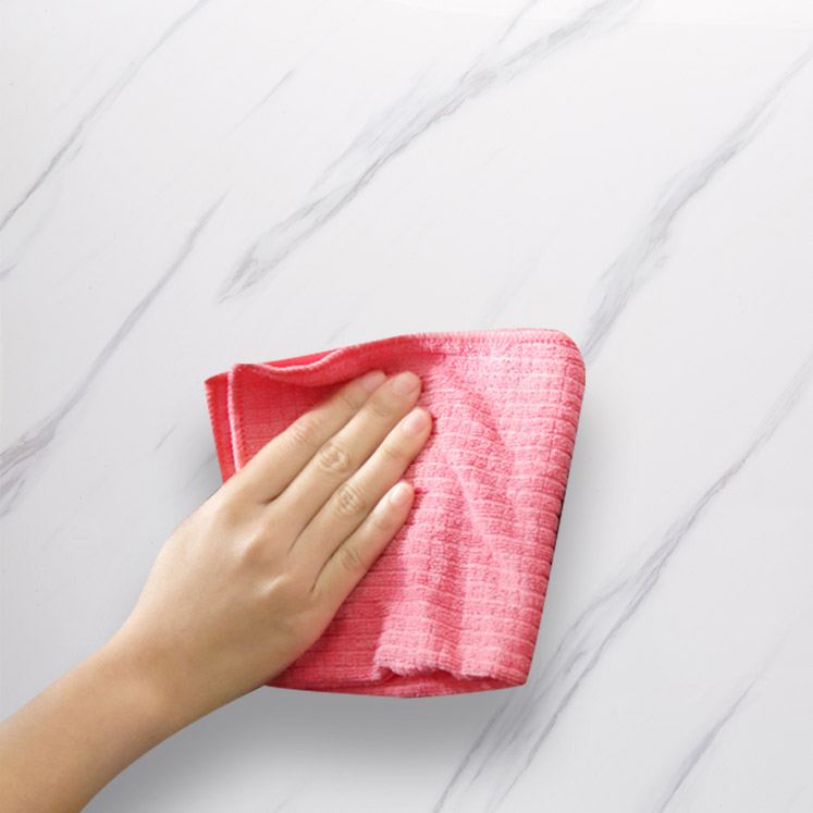 PVC wall panels are easy to clean