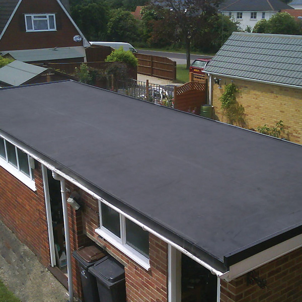 Flat roof system EPDM