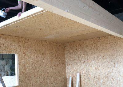 Installing a Guardian roof on TEK Panels