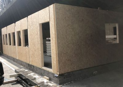 Outer shell TEK Panels completed