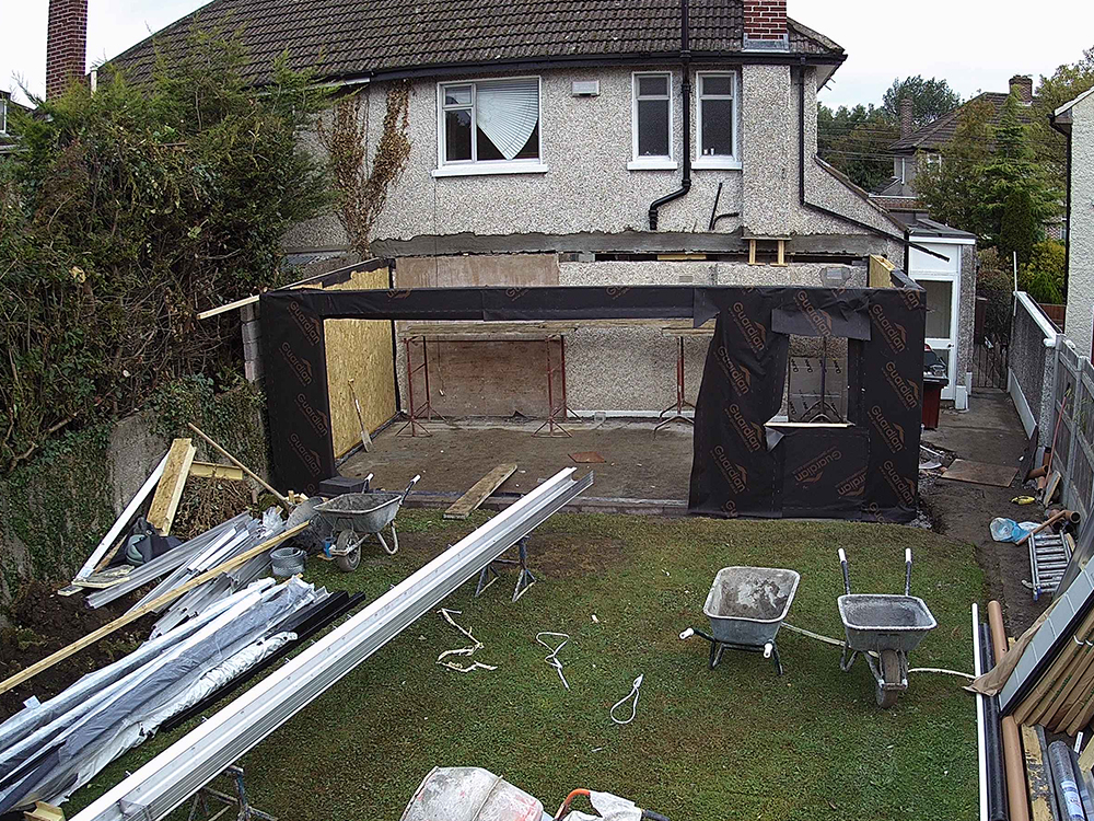 Guardian Home Extension - end of week one