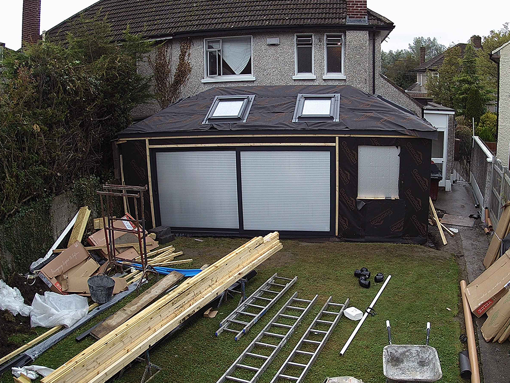 Guardian Home Extension - End of week two build