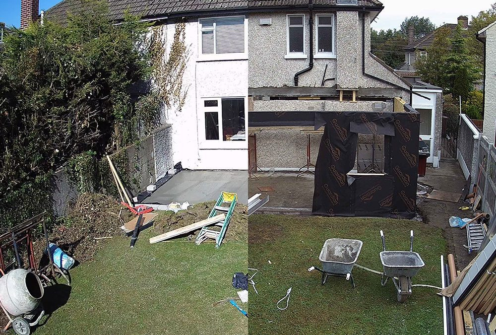 Build Diary: Guardian Home Extension – Week One