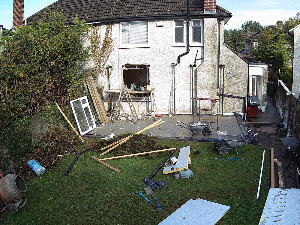 Guardian Home Extension - rear window removed