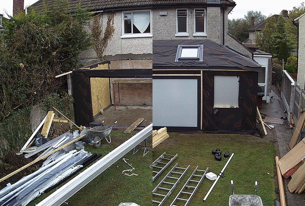 Build Diary: Guardian Home Extension – Week Two