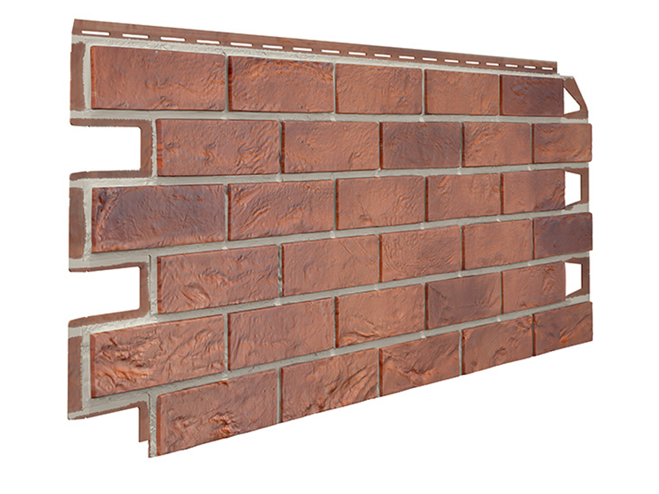 Bristol Red Brick Effect Garden Wall Cladding Www Celuplast Com