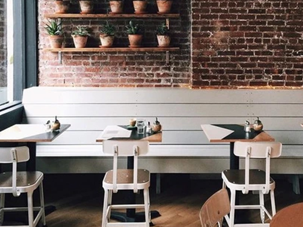 small business style restaurant